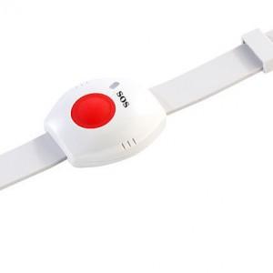 Marcador telefónico con botón de pánico