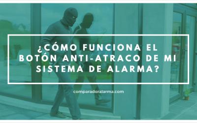 ¿Cómo funciona el botón anti-atraco demi sistema de alarma?