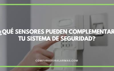¿Qué sensores pueden complementar tu sistema de seguridad?