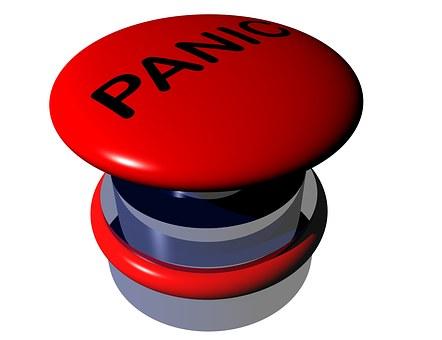 Botón de pánico de las alarmas